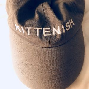 Kittenish baseball cap!